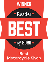 San Diego Reader's Best of 2020 Winner - Best Motorcycle Shop